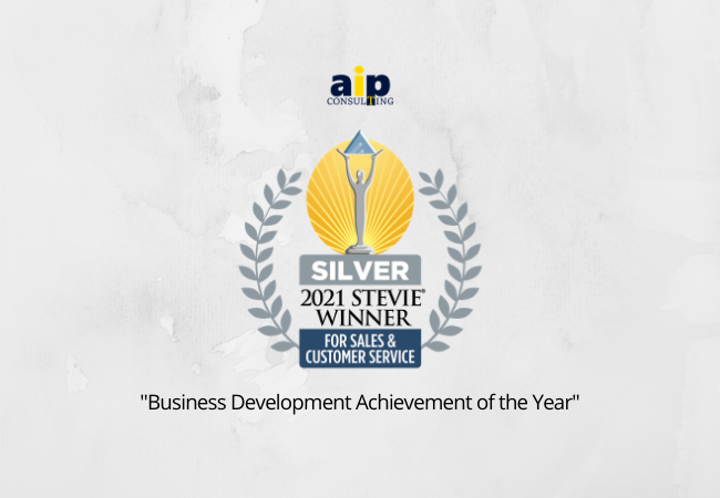 Silver Stevie® Award for AIP Consulting