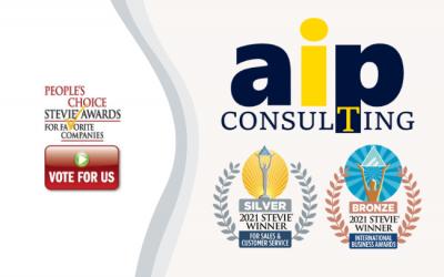 Ψηφίστε την AIP Consulting για το People's Choice Award!